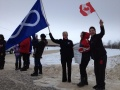 Buffalo Narrows INM Metis Canada Flags 2013 Jan5.jpg