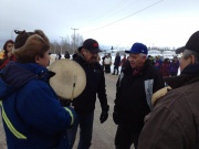 Buffalo Narrows INM Dene Drummers Singers 2013 Jan5.jpg
